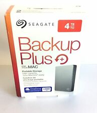 Seagate Backup Plus Slim STDS4000400 Plus 4TB External HD USB 2.0/3.0 For MAC
