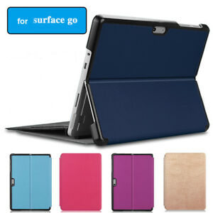 """Protective Case for Microsoft Surface Go 10"""" Tablet  Leather Folio Stand Cover"""