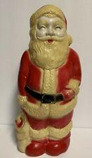 "Vtg Union Products Inc. Leominster Mass. Santa Blow Mold 13 1/2"" ~Thin plastic"