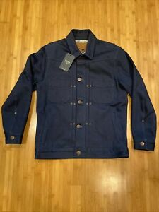 New with Tags - Freenote Cloth 14.75oz Denim Riders Jacket in Double Indigo