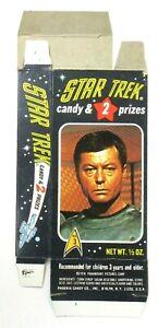 1976 Phoenix Candy Box #3 DOCTOR McCOY Star Trek UNUSED near mint