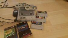 Super Nintendo Konsole ( SNES ) , 2 Controller - 3 Spiele
