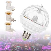 Home Romantic RGB Rotating LED Magic Crystal Ball Lamp Stage Light Party Bulb