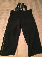 Genuine US Military Black Polartec Fleece Overalls Cold Weather**LG-Short Reg