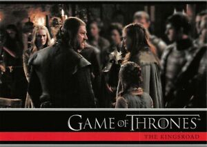 Game of Thrones Season 1 (2012) BASE Trading Card #06 / THE KINGSROAD