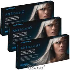 Antigiallo Dikson ® 3 x box = 36 fiale x 12ml Neutralizza sfumature giallastre