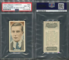 1935 ARDATH TOBACCO CRICKET, TENNIS & GOLF #44 T.H. COTTON PSA 8 (8239)