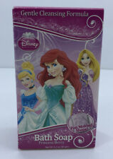 Disney Princess Molded Bath Shower Bar Soap Princess Berry Scent New