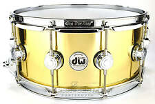 DW Collectors Bell Brass Snare Drum 14x6.5 - Video Demo!