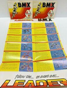 1970'S BMX BICYCLE LEADER CATALOGS X 3 MINT