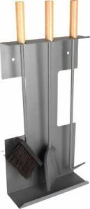 Valiant Premium 3-Piece Wall Mountable Carlisle Fireside Companion Set - FIR511