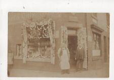 Rossendale William Perkins Corner Shop Vintage RP Postcard 388b