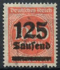 Germania SG # 288, 125T su 200m rose-pink utilizzato #A 85080