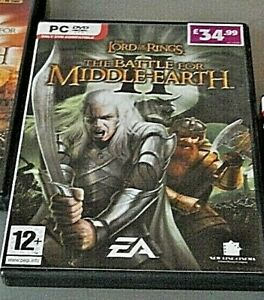 Lord of the rings Battle for middle earth II pc game VGC
