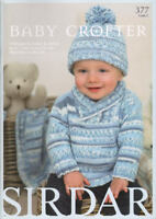 Baby Crofter #1 Knitting Pattern Designs Book Children 0-7 yrs Sirdar 377