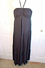 Michael Stars maxi  Dress, One Size, Halter/strapless, tiered skirt, cotton