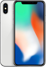 Apple iPhone X - Silver - 64GB AT&T