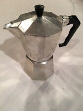 Vintage Italy Stove Top Expresso Coffee Maker Omegna Junior Circa 1969-1973