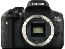 Canon EOS 750D / Rebel T6i 24.2 MP SLR-Digitalkamera - Schwarz (Nur Gehäuse)