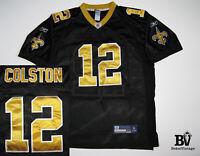 REEBOK MEN'S NEW ORLEANS SAINTS NFL FOOTBALL JERSEY MARQUES COLSTON SIZE 54