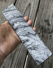 HAND FORGED DAMASCUS STEEL BILLET BAR for knife making Or Any Tool Accessories
