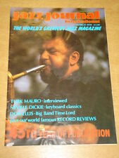 JAZZ JOURNAL INTERNATIONAL VOL 43 #3 1990 MARCH TURK MAURO NEVILLE DICKEY