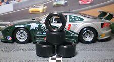1/32 URETHANE SLOT CAR TIRES 2pr PGT-20124LM fits SCALEXTRIC Jaguar XKRS