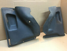 Fiat 126 Pair of Rear Black CARD (SeatBelt Type)