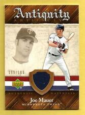JOE MAUER 2007 Artifacts Antiquity Game-Used Jersey #JM Twins #ds 199/199