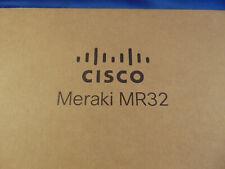 Cisco Meraki MR 32 cloud management wireless access point dual concurrent secure