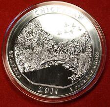 2011 ATB CHICKASAW DESIGN .999% 5 OZ SILVER ROUND BULLION COLLECTOR COIN
