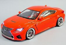 Custom RC 1/10 Drift LEXUS RC F AWD DRIFT Car  RTR W/ LED LIGHTS
