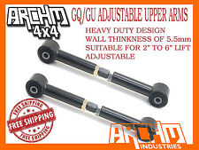 NISSAN PATROL GQ/GU HEAVY DUTY ADJUSTABLE UPPER CONTROL TRAILING ARMS