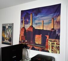 PINK FLOYD Animals HUGE 4X4 BANNER fabric poster tapestry cd album flag