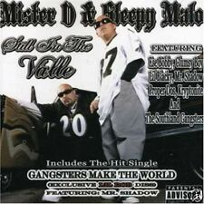 MISTER D & SLEEPY MALO STILL IN THE VALLE CHICANO RAP CD