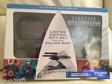 STAR TREK nelle tenebre Limited Edition 3d Blu Ray Gift Set ** Nuovo e Sigillato **