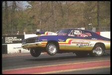 273073 A Super Gas Chevelle Drag Car Pulls The Front Wheels A4 Photo Print