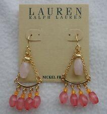 Bead Chandelier Drop Earrings Nwt Lauren By Ralph Lauren Small
