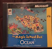 The Magic School Bus Explores The Ocean CD PC