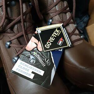 NEW British Army Goretex Haix High Liability Combat Boots UK 8 Wide 8W W Mens