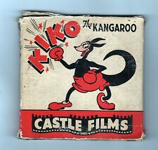 VINTAGE KIKO THE KANGAROO FILM 8mm CASTLE FILMS Cartoon PAUL TERRY TOONS Bear