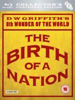 Nuovo The Birth Of A Nation - Centenary Edizione Blu-Ray Regione B