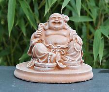 Steinfigur Buddha Statue Figur Gartenskulptur Gartenfigur Gartendeko Stein