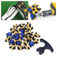30x Golf Sports Shoe Spikes Replacement Champ Stinger Cleat+Remover FOR Footjoy