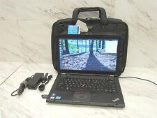 "Lenovo ThinkPad T430 Intel Core i5-3320M @2.60GHz 4GB RAM 14"" Laptop w/ AC & Bag"