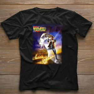 Back To The Future Unisex Movie Cult Comedy Sci Fi T Shirt