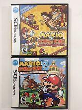 Mario vs. Donkey Kong: Mini-Land Mayhem + 2 March of the Minis Nintendo DS LOT