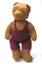 OLD EARLY TEDDY BEAR PLUSH TOY LOVELY BROWN
