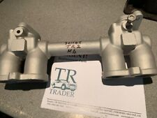 Triumph  TR2 H4  low port twin carb inlet manifold