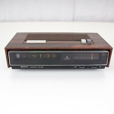 SONY Flip Clock Radio Digimatic Litetime Alarm Clock FM/AM Vtg Model TFM-C770W